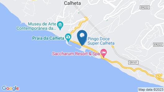 Calheta Beach – All-inclusive | Savoy Signature Map