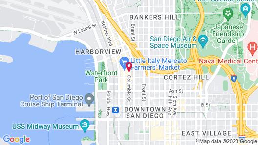 Urban Boutique Hotel Map