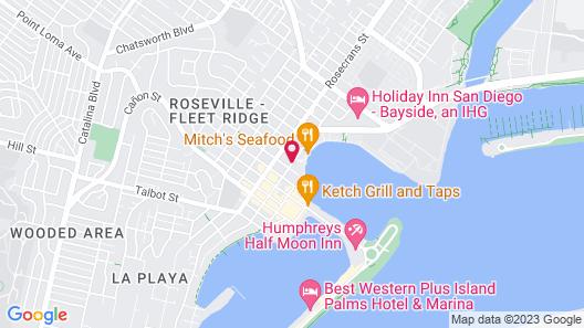Sea Harbor Hotel Map