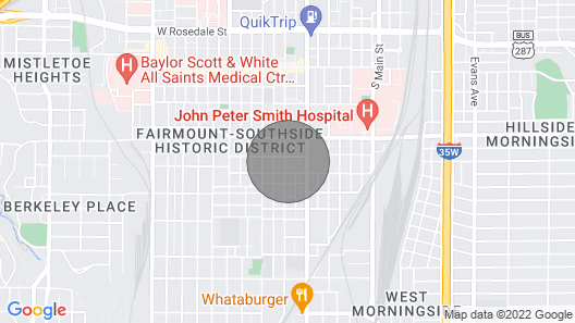 Comfy Home In Fort Worth Map