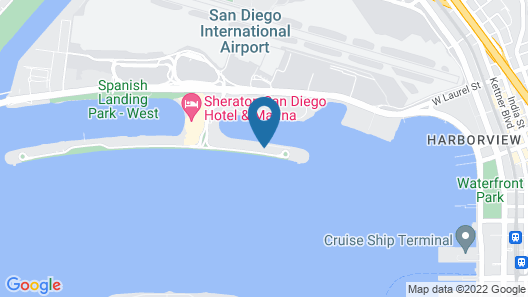 45 ft Sea Ray Motor Yacht Located in Beautiful San Diego bay Map