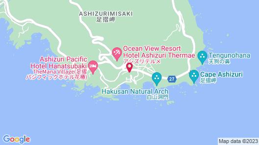Ashizuri Kokusai Hotel Map