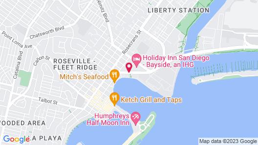 Best Western Yacht Harbor Hotel Map