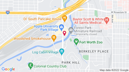 Hawthorn Suites By Wyndham Fort Worth/medical Cent Map