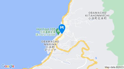 Ryokan Yamadaya Map