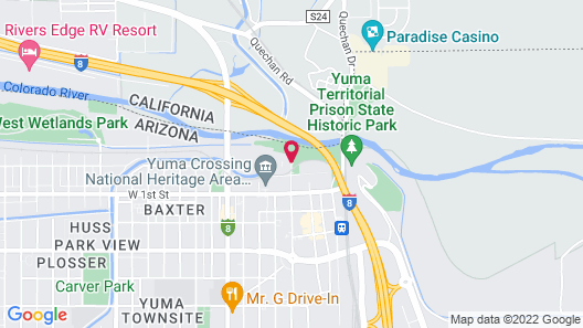 Hilton Garden Inn Yuma Pivot Point Map