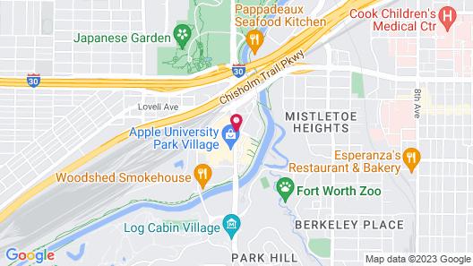 Fairfield Inn & Suites Fort Worth University Drive Map