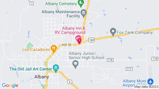 Albany Inn & RV Campground Map
