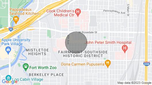 Magnolia Avenue Penthouse Condo Map