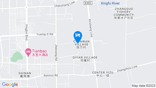 GreenTree Inn Taizhou Xinghua Dainan Suguo Business Hotel Map