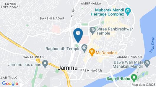 Lords Inn Jammu Map