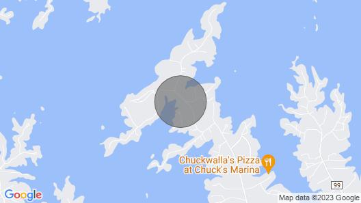 A Jewel on Lake Martin, Close to Chuck's Marina, Chimney Rock, & Union Boat Ramp Map