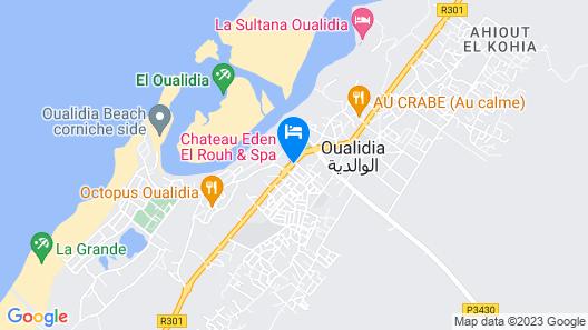 Chateau Eden El Rouh Map