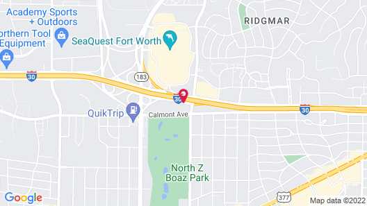 Fairfield Inn & Suites Fort Worth I-30 West near NAS JRB Map