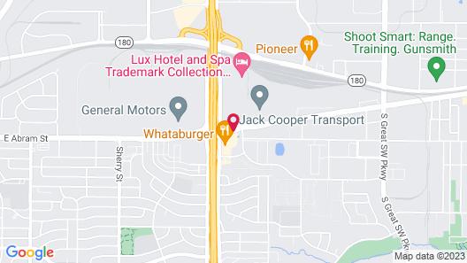 Super 8 by Wyndham Arlington Near AT&T Stadium Map