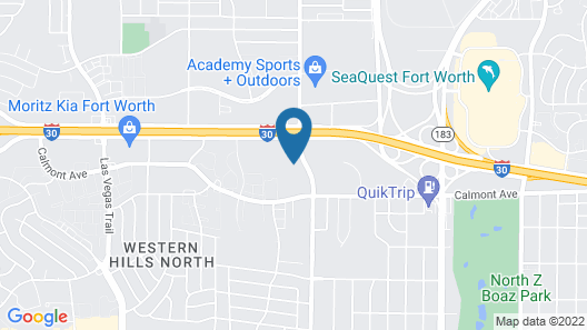 Holiday Inn Express & Suites Fort Worth West, an IHG Hotel Map