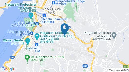 The Sloope Nagasaki Map
