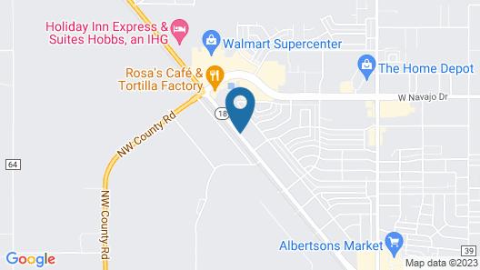 La Quinta Inn & Suites by Wyndham Hobbs Map