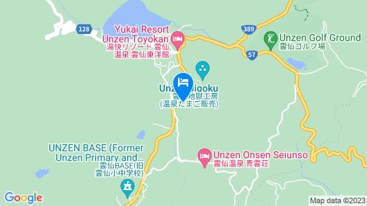 Unzen Kanko Hotel Map