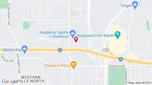 Comfort Inn & Suites Fort Worth West Map