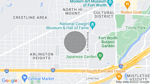 Will Rogers Dog House Map