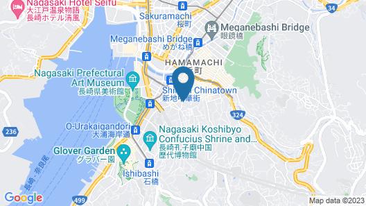 GRAND BASE Nagasaki Map