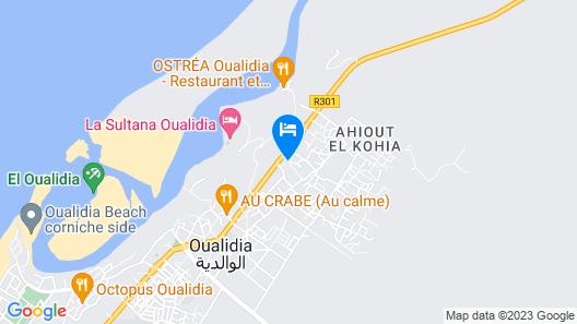 Dar Rosa Bleu Map