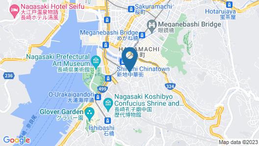 Hotel Jal City Nagasaki Map