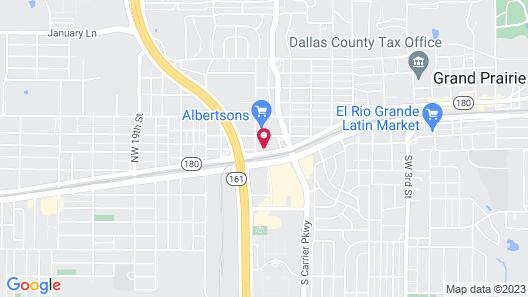 Bella Vista Inn & Suites Map