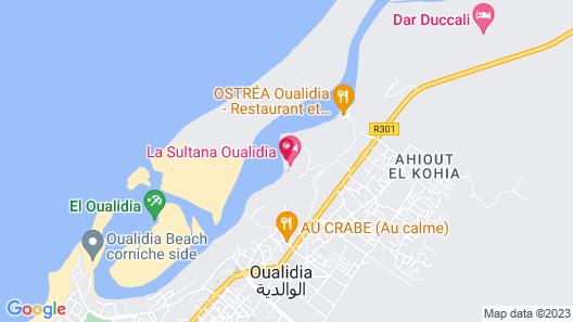 La Sultana Oualidia Map