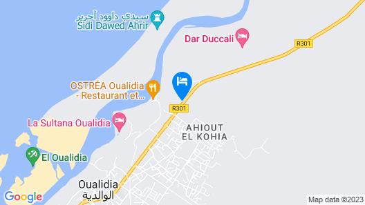 Auberge Oualidia Dream Map