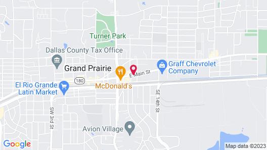 Delux Inn Motel Map