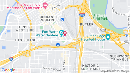 Sheraton Fort Worth Downtown Hotel Map