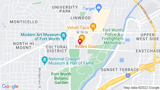 1 BR & 2 BR with Balcony by Frontdesk Map