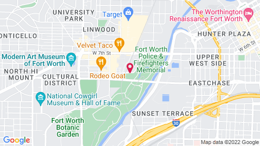 Residence Inn by Marriott Fort Worth Cultural District Map