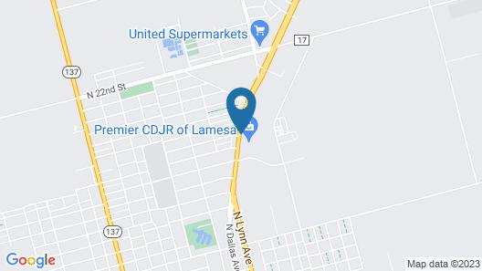 Shiloh Inn Map