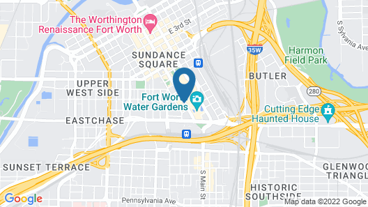 Omni Fort Worth Hotel Map