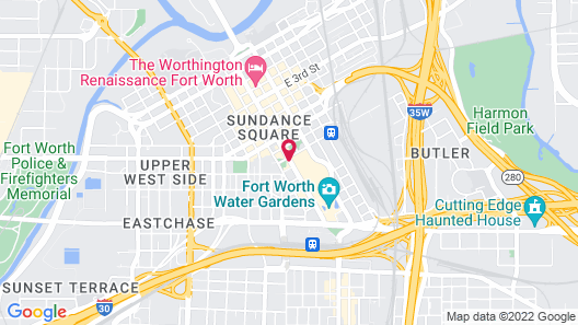 Fairfield Inn & Suites Fort Worth Downtown/Convention Center Map