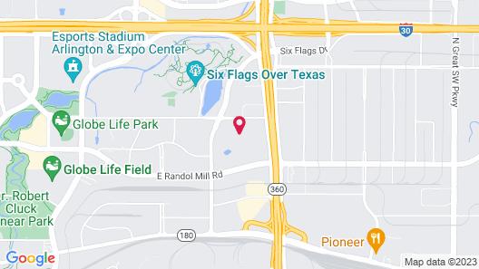 Hyatt Place Dallas/Arlington Map