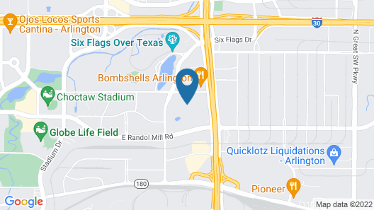 Hyatt Place Dallas/Arlington Map