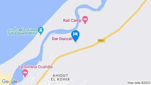 Dar Duccali Map