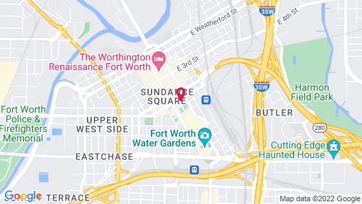 Hilton Fort Worth Map