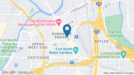 Hilton Downtown Fort Worth Map