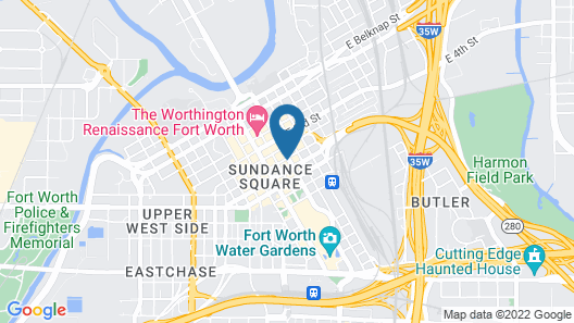 Embassy Suites by Hilton Fort Worth Downtown Map