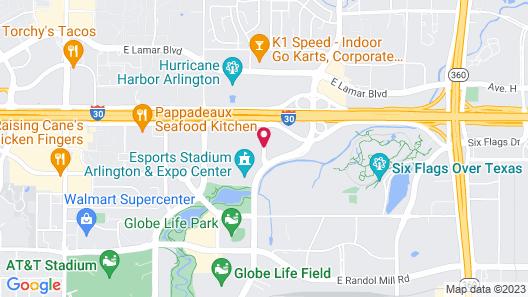 Sheraton Arlington Hotel Map