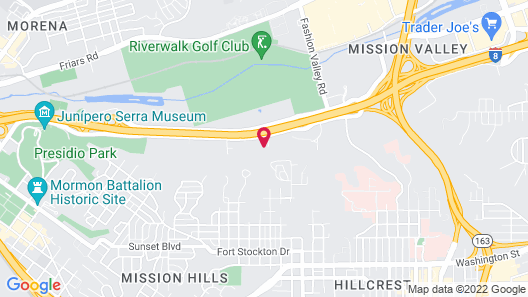 Candlewood Suites San Diego, an IHG Hotel Map