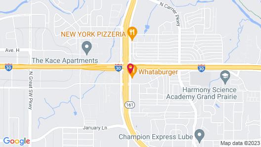Motel 6 Grand Prairie, TX - Interstate 30 Map