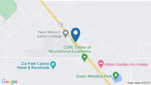 Motel 6 Hobbs, NM - Event Center Map