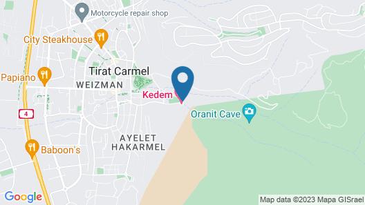 Kedem Hotel Map