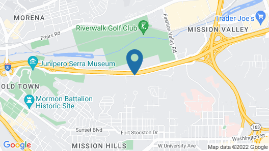 DoubleTree by Hilton San Diego - Hotel Circle Map